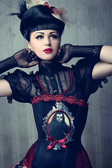 Dark Doll by phantomorchid