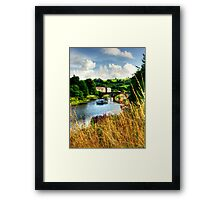 The  Totnes Plains Framed Print