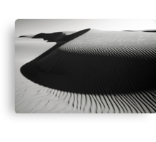 Oceano Dune Curves Canvas Print