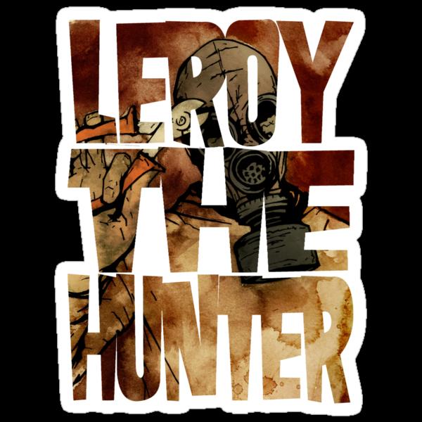 Leroy The Hunter by matthewdunnart