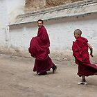 Xiahe, Gansu, China by Christopher Herwig