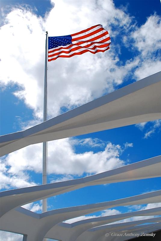 Pearl Harbor - Arizona Memorial by GraceNotes