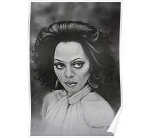 The incomparable Diana Ross. Poster