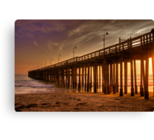 Ventura Pier Canvas Print