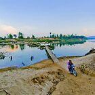 Bridge over the Sedon river - Khongsedon, Laos by AsiaArchaeology