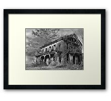 THE HOUSE ON THE LEFT.... Framed Print