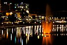 Nighttime on the Torrens by Wendi Donaldson