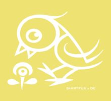 Bird - humor, fun, forest animals, flying Kids Clothes