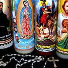Religious Candles by Brian Gaynor