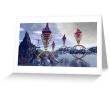 Crystal makers Greeting Card