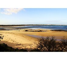 Sand Bar - Barwon Heads Bluff Victoria Australia Photographic Print