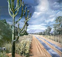 African Road by Patricia Howitt