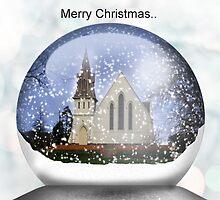 Snow globe Christmas.. by Kristina K