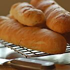 Home-made baguettes by Denise Couturier