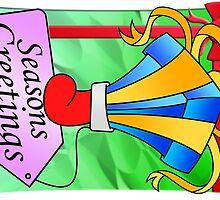 Xmas Cards 2009 - Stocking by Sketchaholic