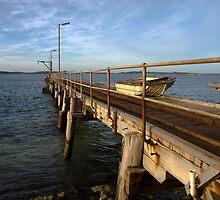 Vivonne Bay Jetty by John Raftery