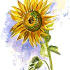 Sunflower by Svetlana Mikhalevich