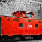 Little Red Caboose by JGetsinger
