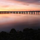 Washington Riverfront At Dawn by JGetsinger