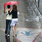 paris aime la pluie by Sonia de Macedo-Stewart