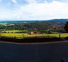 Box Hill View Point Panoramic by Eyeswide