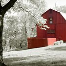 TC Steele Studio w/Red Barn by ckroeger