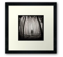 Echo Of Small Things Framed Print