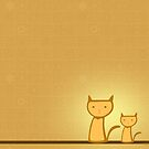 Two Orange Cats by surlana