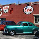 Antique Car Show at Cotton Pickin' Fair by Susan Russell