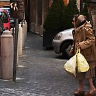 Lady Shopping in Rome by Erin Kanoa