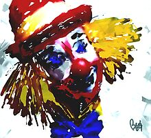 Clowning Around  by bev langby