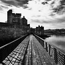 Dramatic Blackness Castle by Lynne Morris