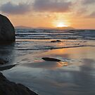 Sunset from Norman Bay at Wilsons Promontory by johnrf