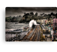 The Great Storm Canvas Print