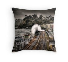 The Great Storm Throw Pillow