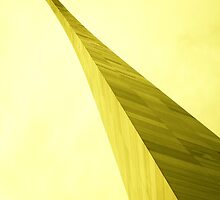 St. Louis Gateway Arch in yellow by Ghelly