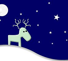 Lost reindeer by Gavin King