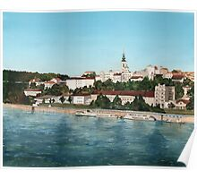 Belgrade - View from the Danube Poster