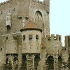 The Gravensteen Castle - Ghent Belgium by Gilberte