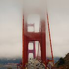 foggy golden gate by Sebastian Warnes