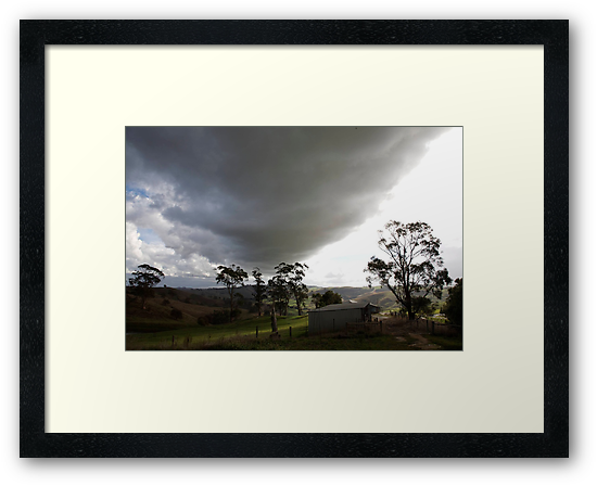 skyscapes #51, big cloud by stickelsimages