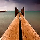Geraldton Jetty ~ 4 by Pene Stevens