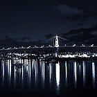 Night Bridge by Cameron  Allen Lamond