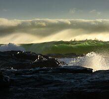 Waves 02 Margaret River Western Australia by Reza2111