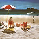 Sunbathers at the pass by maria paterson