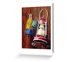 Crab Shack Wall Greeting Card
