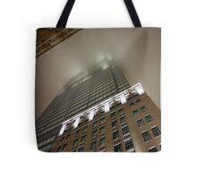 Rain in the City Tote Bag