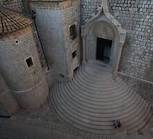 Dubrovnik Steps by Andrew Willesee