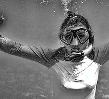Blowing Bubbles by Bob Webb