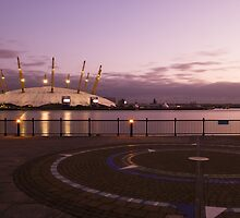 Circles and a pink sunset by Irina-C